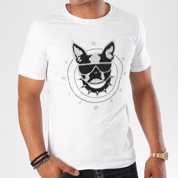 Tee Shirt Jak-053 Blanc