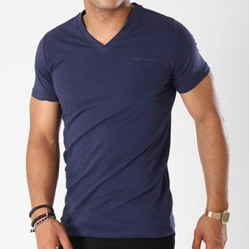 Teddy Smith - Tee Shirt Tawax Bleu Marine
