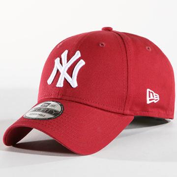 New Era - Casquette League Essential New York Yankees 80636012 Bordeaux