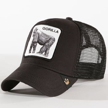 Casquette Trucker Gorilla Noir