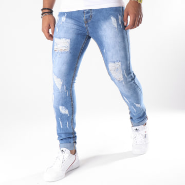 LBO - Jean Skinny LB-054 Denim Bleu Medium