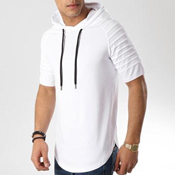 Tee Shirt Capuche Oversize 462 Blanc