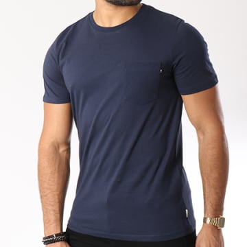 Jack And Jones - Tee Shirt Poche Epocket Bleu Marine