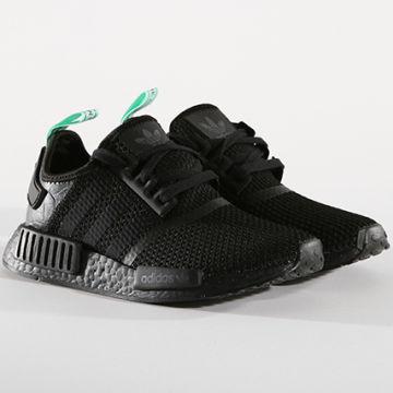 Adidas Originals - Baskets NMD R1 AQ1102 Core Black Clear Mint