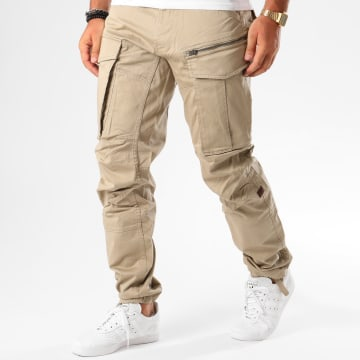 G-Star - Pantalon Cargo Rovic Zip 3D Tapered D02190-5126 Beige