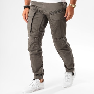 G-Star - Pantalon Cargo Rovic Zip 3D Tapered D02190-5126 Gris Anthracite