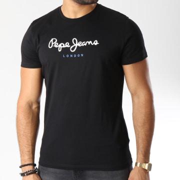 Pepe Jeans - Tee Shirt Eggo Noir