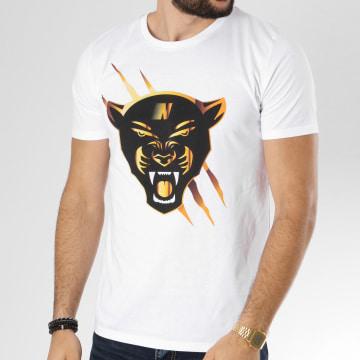 Dabs - Tee Shirt Panther Blanc
