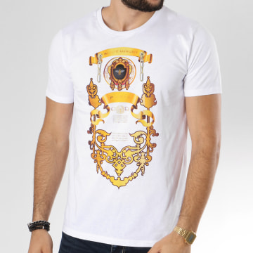Dabs - Tee Shirt Luxury Blanc