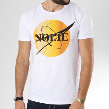 Dabs - Tee Shirt Space Blanc