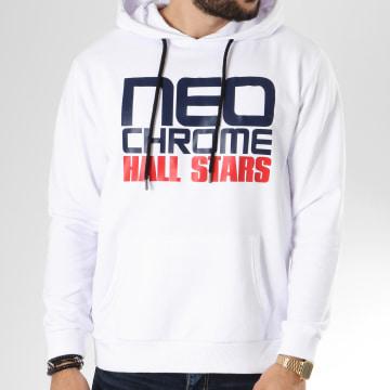 Neochrome - Sweat Capuche Impact Blanc