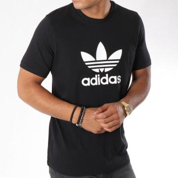 Adidas Originals - Tee Shirt Trefoil CW0709 Noir Blanc