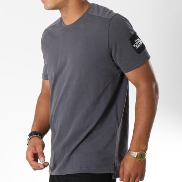 Tee Shirt Fine 2 Gris Anthracite