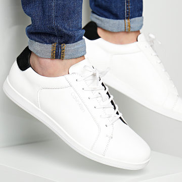 Calvin Klein - Baskets Main 2 Nappa Smooth White