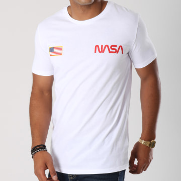 NASA - Tee Shirt Chest Blanc