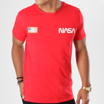 NASA - Tee Shirt Chest Rouge