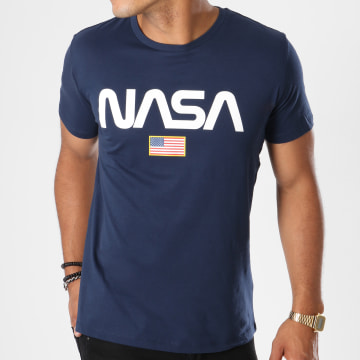 NASA - Tee Shirt Director Bleu Marine