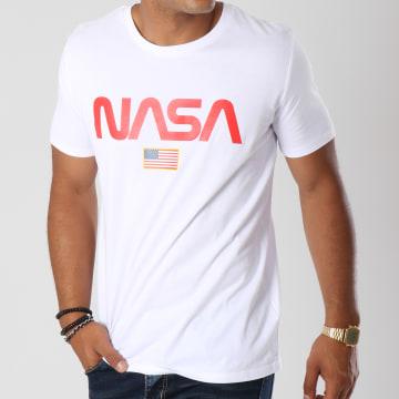 NASA - Tee Shirt Director Blanc Rouge