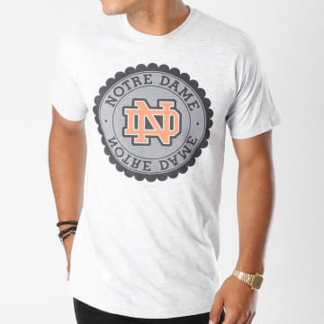 Swift Guad - Tee Shirt Notre Dame Gris Chiné