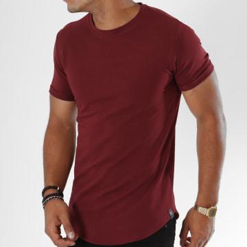 Tee Shirt Oversize T311 Bordeaux