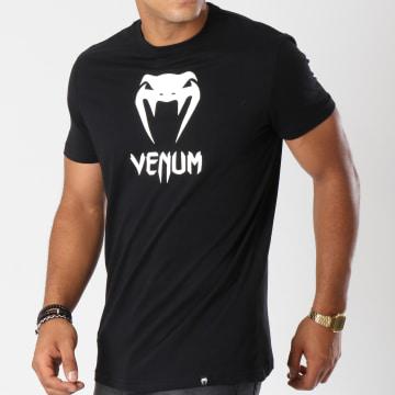 Venum - Tee Shirt Classic Noir Blanc