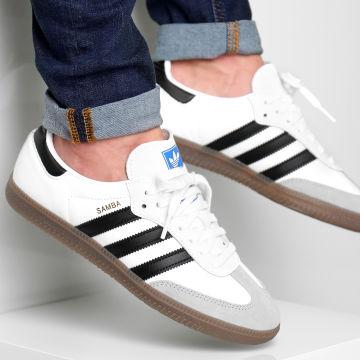 Adidas Originals - Baskets Samba OG B75806 Footwear White Core Black Clear Granite