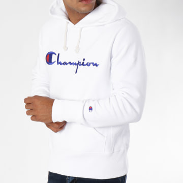 Champion - Sweat Capuche 212574 Blanc