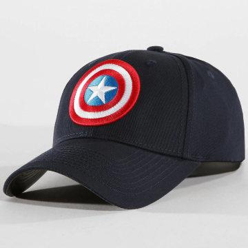 Captain America - Casquette Captain America Bleu Marine