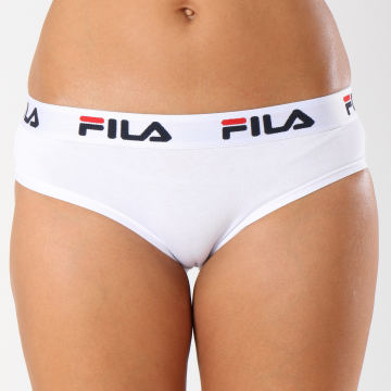 Fila - Culotte Femme Brief FU6043 Blanc Noir