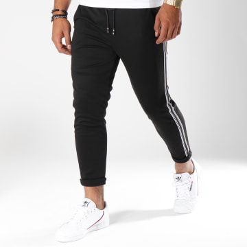 Pantalon Avec Bandes 1377 Noir