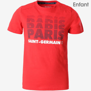 Tee Shirt Enfant Paris Saint-Germain Rouge