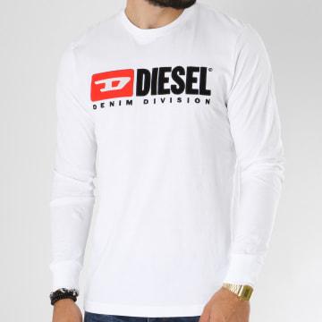 Tee Shirt Manches Longues Division Blanc