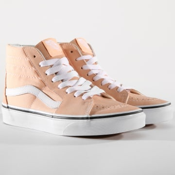 Vans - Baskets Femme Sk8-Hi Bleached A38GEU5Y Apricot True White