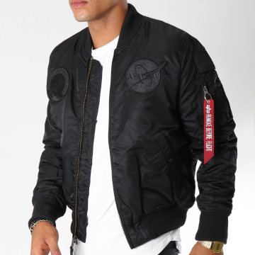 Alpha Industries - Bomber MA-1 VF Nasa Noir