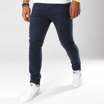 Pantalon Chino Mofirst Bleu Marine