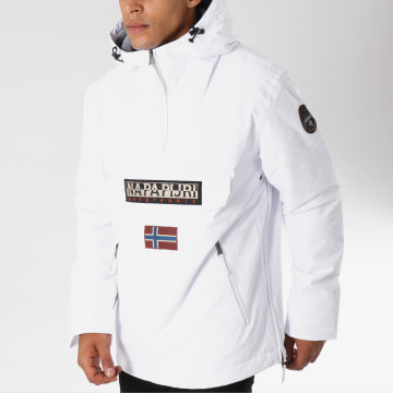 Napapijri - Veste Outdoor Rainforest Pocket Blanc