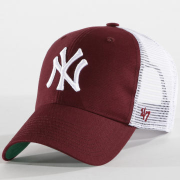 '47 Brand - Casquette Trucker Branson MVP MLB New York Yankees Bordeaux