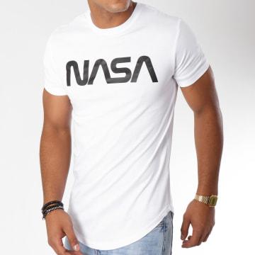 Tee Shirt Oversize Worm Logo Blanc
