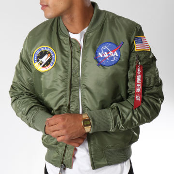 Alpha Industries - Bomber MA-1 VF Nasa Vert Kaki
