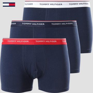Tommy Hilfiger - Lot De 3 Boxers Premium Essentials 3842 Bleu Marine