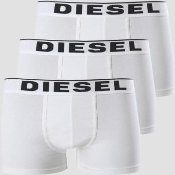 Diesel - Lot de 3 Boxers Damien 00ST3V 0JKKB Blanc