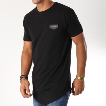 Gianni Kavanagh - Tee Shirt Oversize Gold Noir