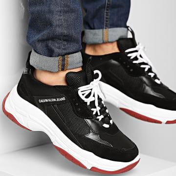 Calvin Klein - Baskets Marvin Mesh Lycra Suede S1770 Black