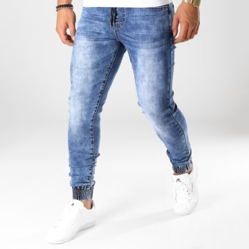 Jogger Pant Jeans 20180426-1 Denim Bleu Medium