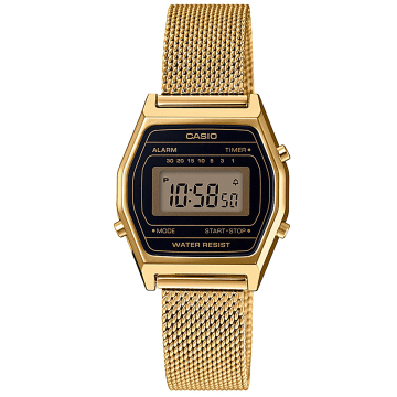 Casio - Montre Collection LA690WEMY-1EF Doré Noir