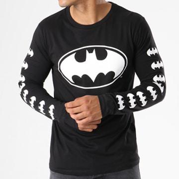 Tee Shirt Manches Longues Logos Noir
