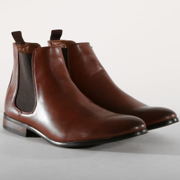 Chelsea Boots UB8888-2 Cognac