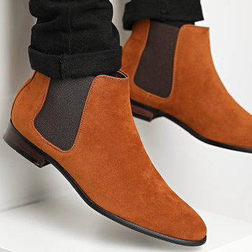 Classic Series - Chelsea Boots UB8888-1 Camel