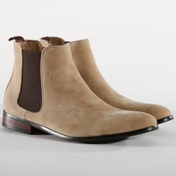 Chelsea Boots UB8888-1 Beige