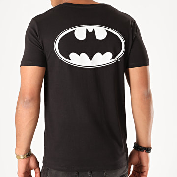 DC Comics - Tee Shirt Back Logo Noir